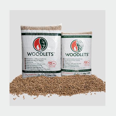 Woodlets Premium Wood Pellets - 960kg