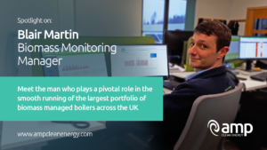 Blair Martin, Biomass Monitoring Manager