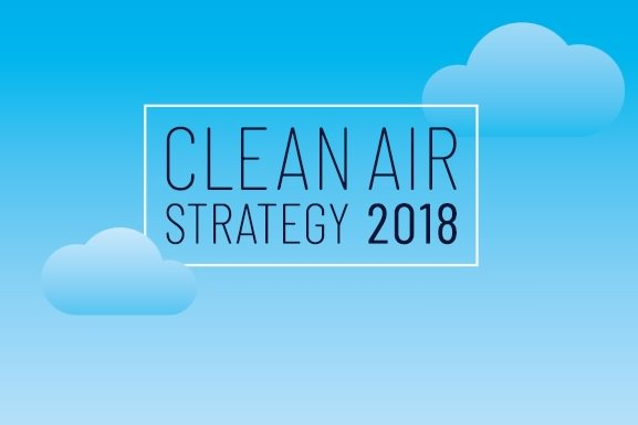 clean air strategy 2018 logo