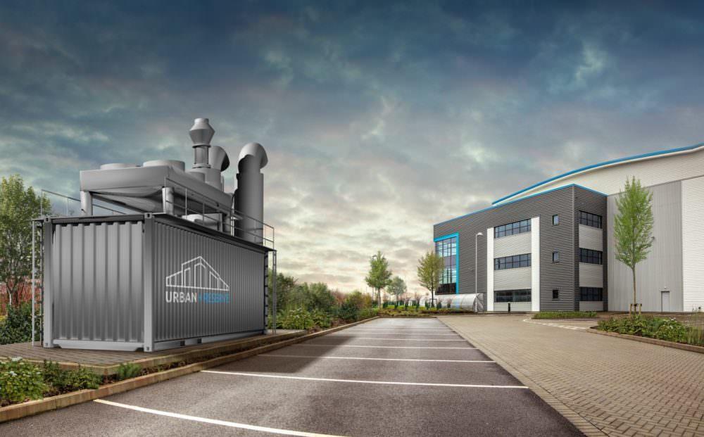 Urban Reserve thermal heat storage