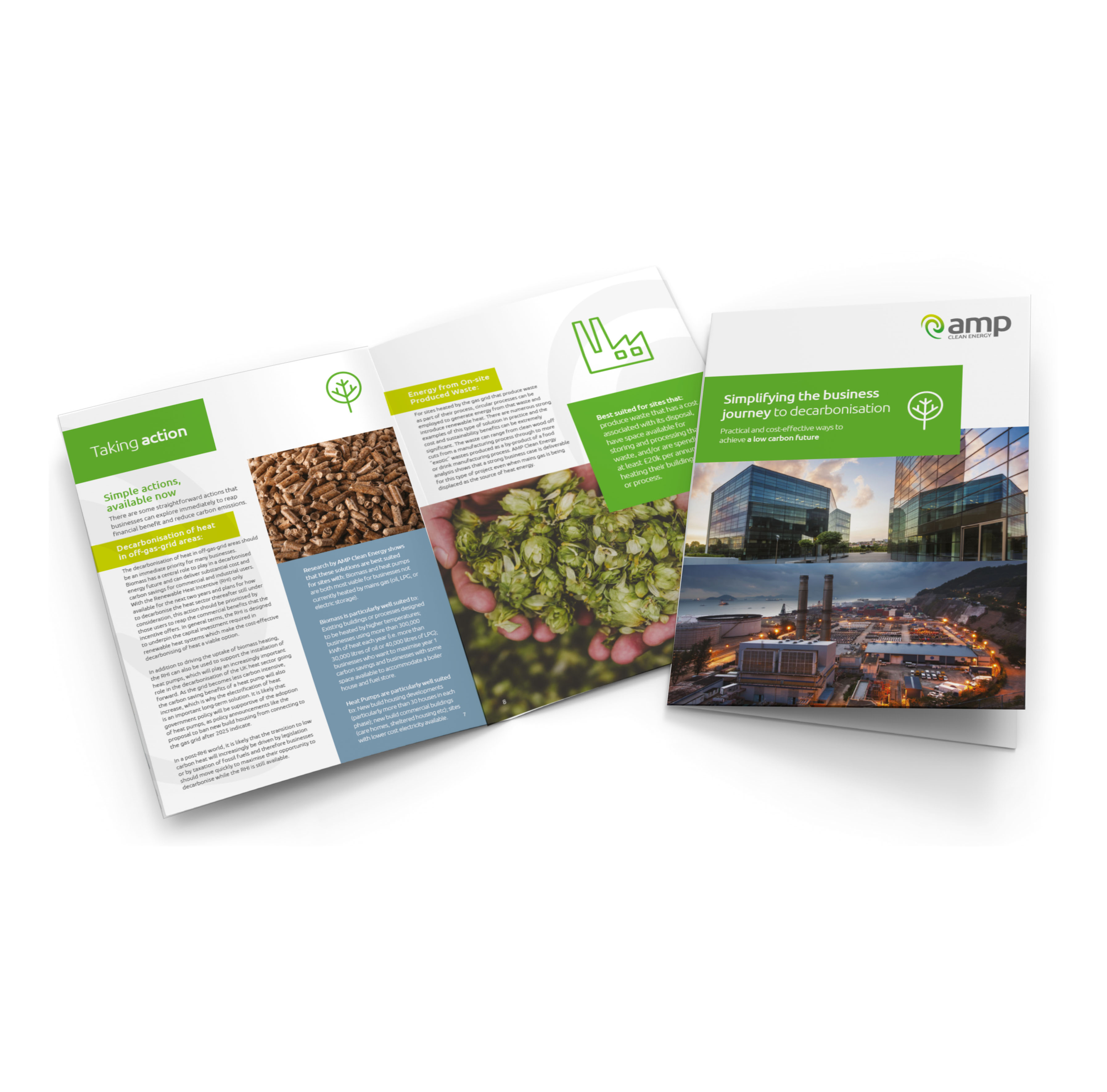 Simple Steps to Sustainability White Paper | AMP Clean Energy